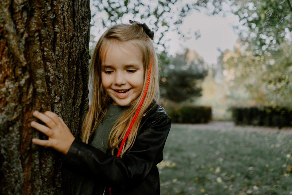 Jesienna sesja w parku